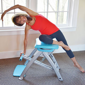 Pilates PRO Chair with 4 DVDs